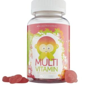 MONKIDS - MULTIVITAMIN, 60 STK