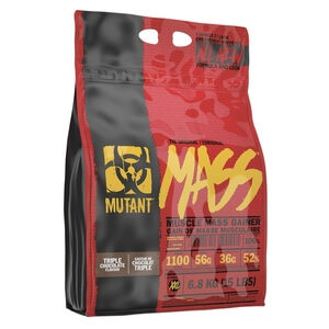 Mutant Mutant Mass, 6,8 kg, Strawberry & Banana Gainers