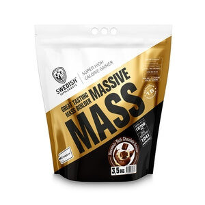 Swedish Supplements Massive Mass, 3.5 kg, Heavenly Rich Chocolate Gainers